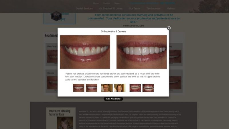 lakeareadental.com